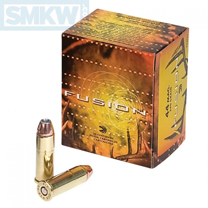 Federal Fusion 44 Rem Magnum 240 Grain Jacketed Hollow Point 20 Rds