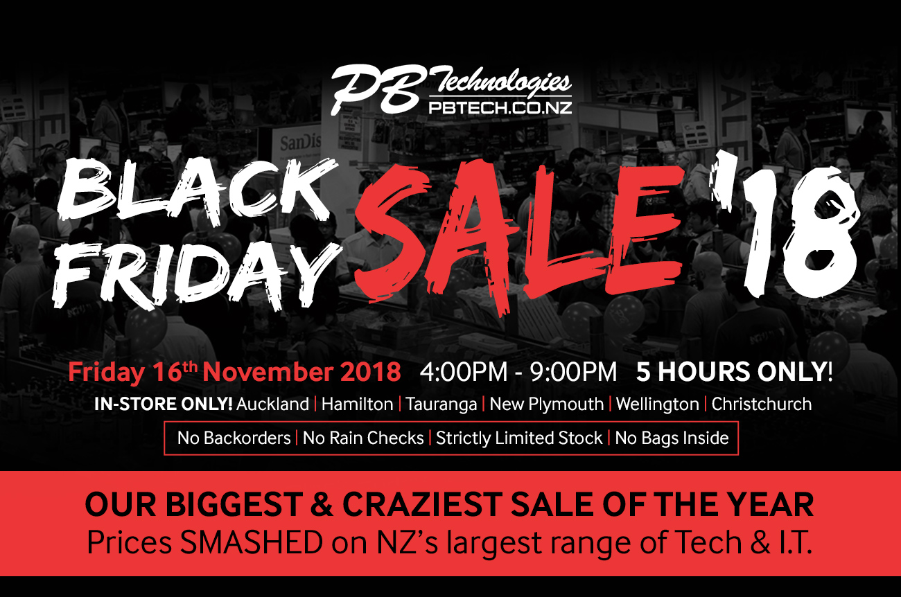 Pb Tech Black Friday 2018 Our Biggest Sale Is Coming Milled