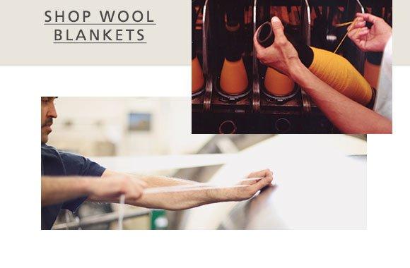 SHOP WOOL BLANKETS