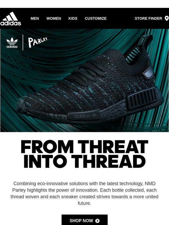 Adidas: The future is near: adidas NMD Parley now available