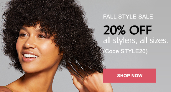 20% off all stylers