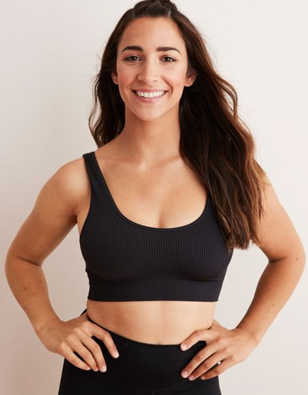dfc8daae25a9d aerie  Still looking for the Aerie Chill Seamless Sports Bra