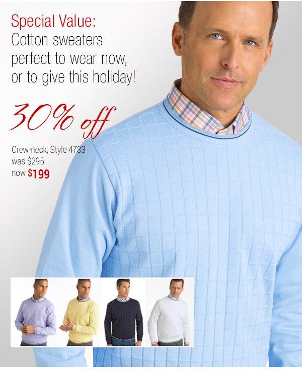 Cotton Crew-neck - Style 4733