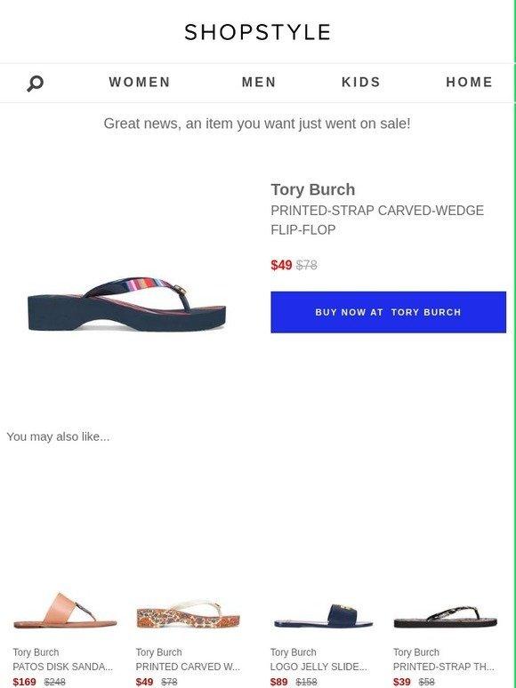 50db3db74 ShopStyle  Sale Alert  Tory Burch