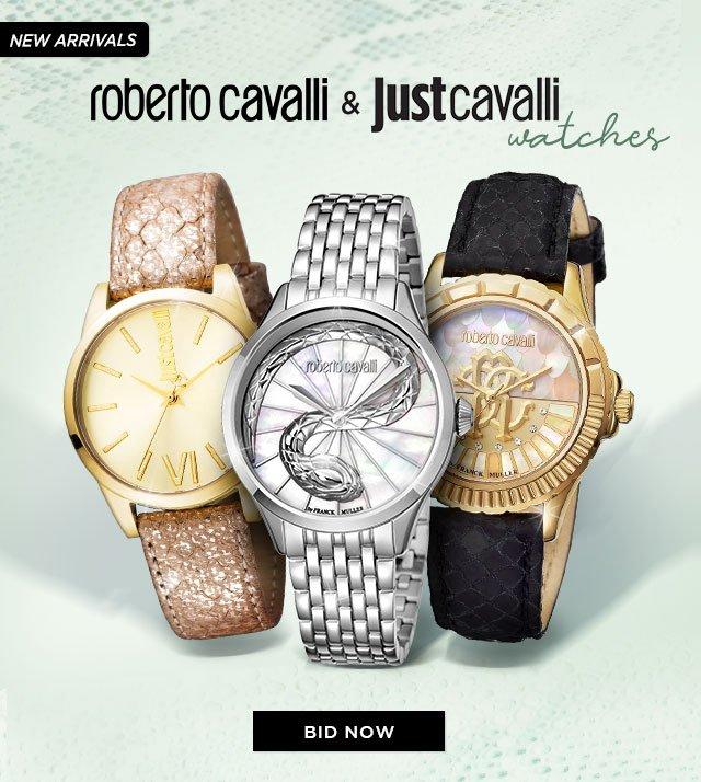 522525dab6 Bidz US  Newly Arrived Just Cavalli   Roberto Cavalli Watches!