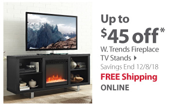 W.Trends Fireplace stands