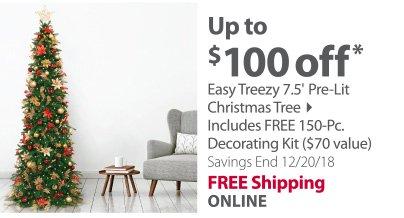 Easy Treasy Christmas Tree