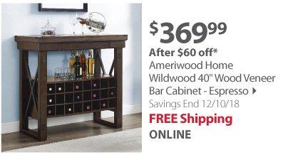 Ameriwood Home Wildwood 40