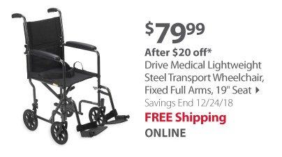 Drive Medical Lighweight Wheelchair