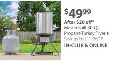 Masterbuilt Turkey Fryer