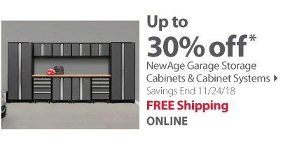 NewAge Garage Storage