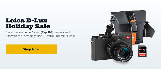 Save now on the Leica D-Lux