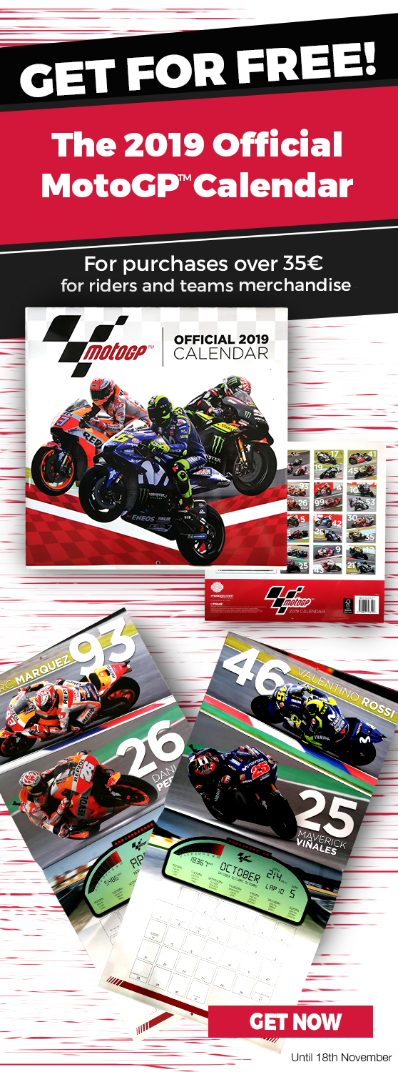 Moto GP Store: GET FOR FREE: The 2019 official MotoGP Calendar | Milled