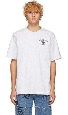 Vetements - Grey 'Georgia' T-Shirt