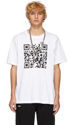 Vetements - White QR Code T-Shirt