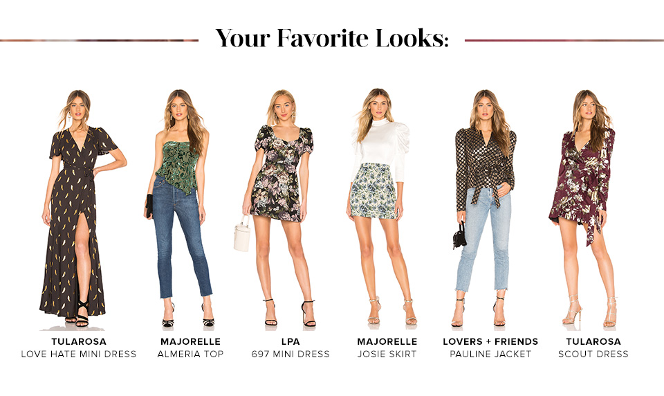 Your Favorite Looks