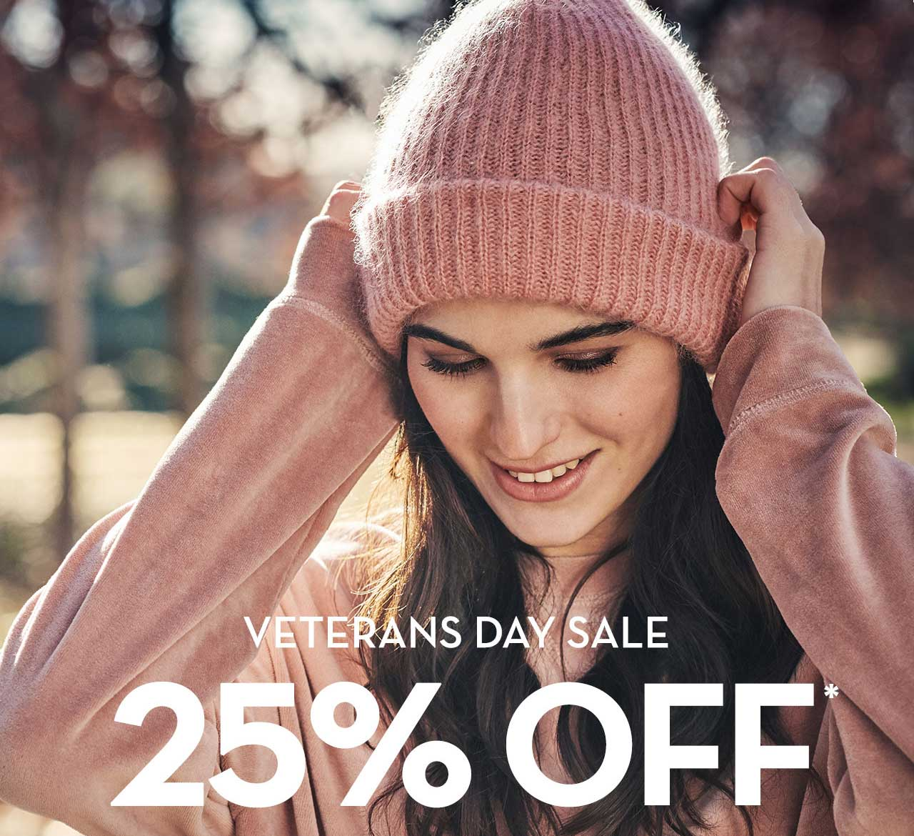 Veteran's Day Sale 25% Off