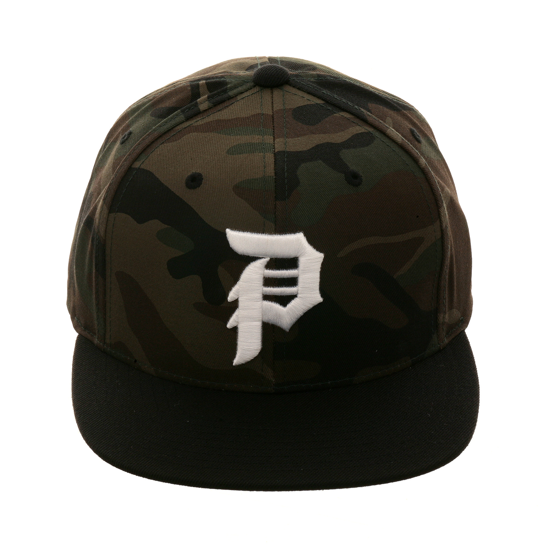 9dab2a01903 Primitive Dirty P Camo Snapback Hat - 2T Camouflage