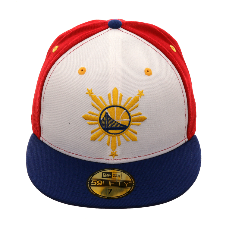 Exclusive New Era 59Fifty Golden State Warriors Filipino Heritage Hat -  White 256d51b74600