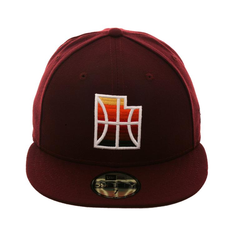 4cfb7df78f5 Exclusive New Era 59Fifty Utah Jazz City 2019 Hat - Maroon