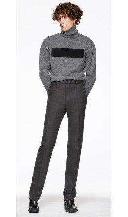 Random Identities - Grey Classic One-Pleat Trousers