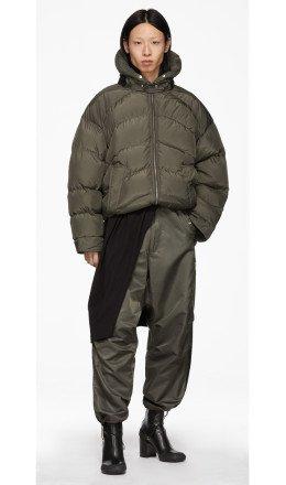 Random Identities - Khaki Duvet Jacket