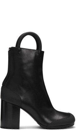 Random Identities - Black Leather Boots