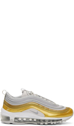 Nike - Gold & Silver Air Max 97 SE Sneakers