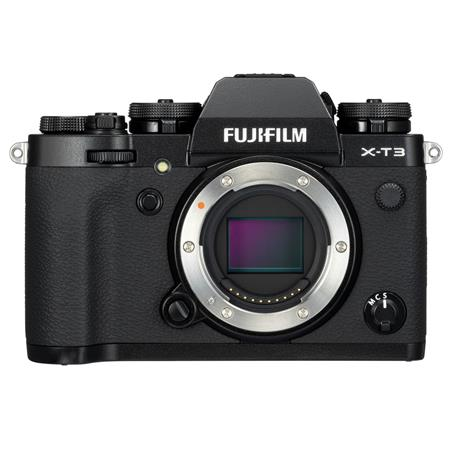Fujifilm X-T3 Mirrorless Camera Body, Black