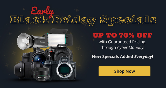 Beat the Rush With Adorama's Same Price Guarantee now through Cyber Monday