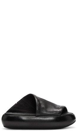 Marsèll - Black Ciambellona Platform Sandals
