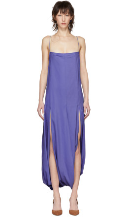 Jacquemus - Purple 'La Robe Nahil' Dress