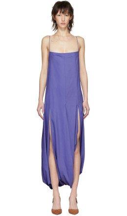 Jacquemus - Purple 'La Robe Nahil' Dress