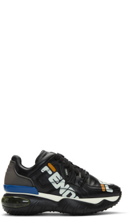 Fendi - Black 'Fendi Mania' Sneakers