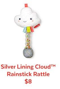 Silver Lining Cloud™ Rainstick Rattle $8