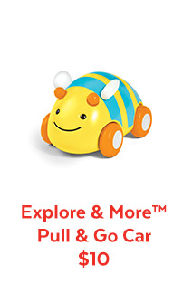 Explore & More™ Pull & Go Car $10