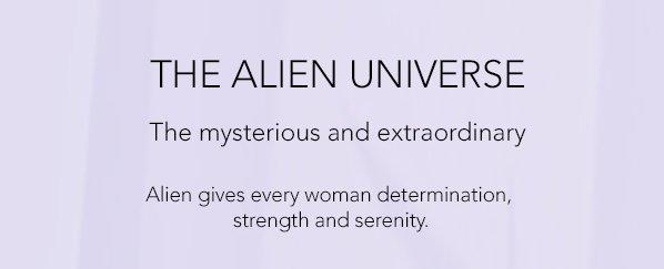 THE ALIEN UNIVERSE