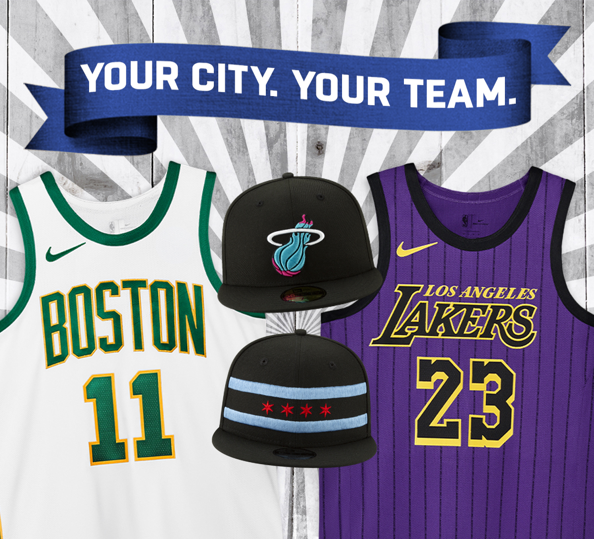 NBA City Series Collection