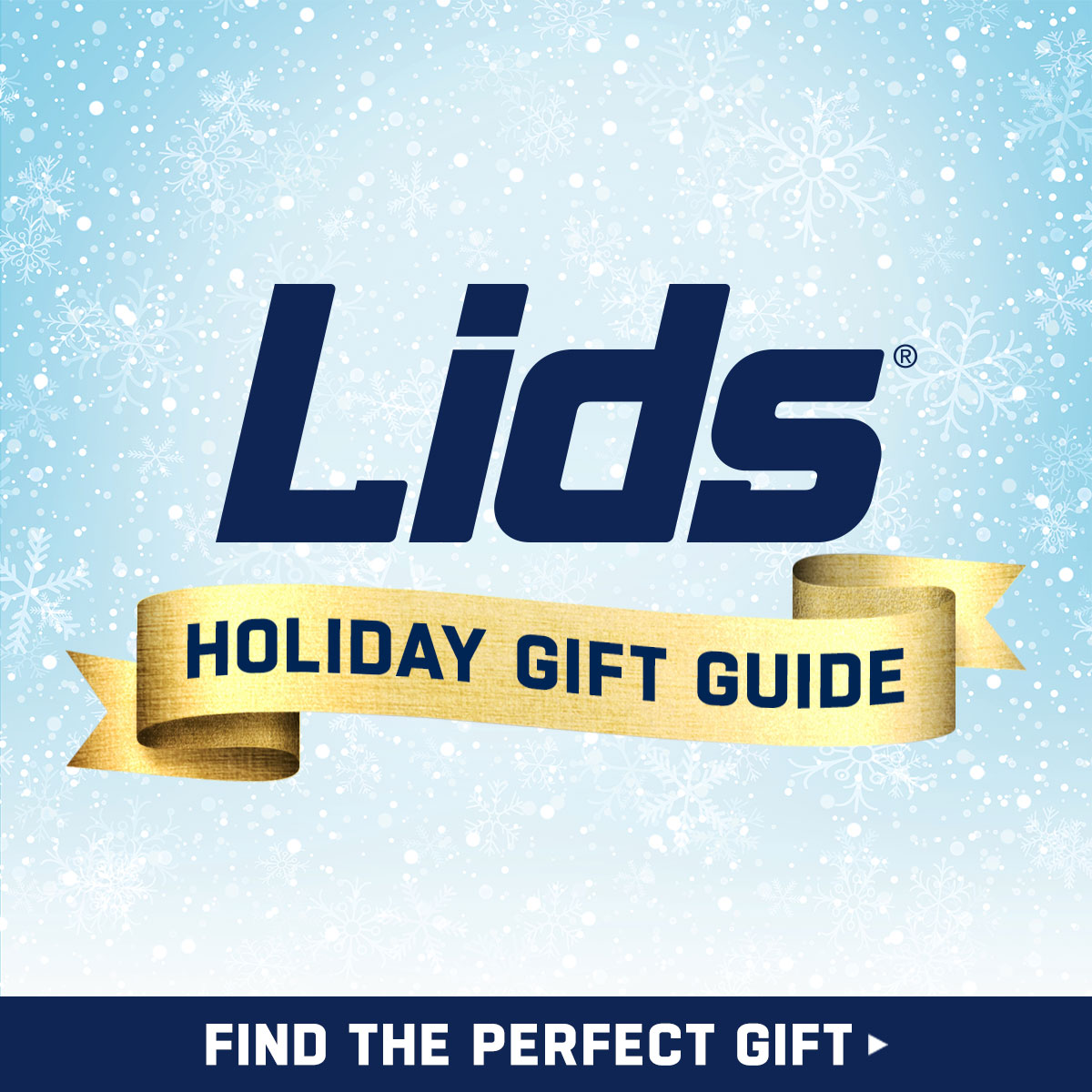 LIDS Holiday Gift Guide - Find the perfect gift