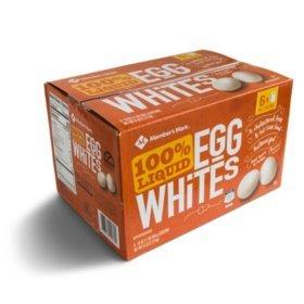 Members Mark 100% Liquid Egg Whites (16 oz. cartons  6 pk.)