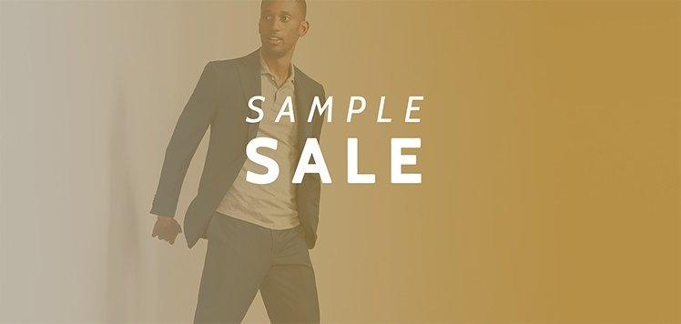 Men's Sample Sale