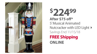 musical animated nutcracker