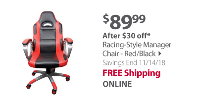 racing style chair