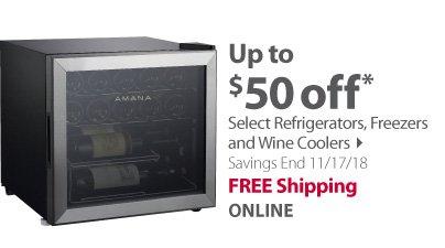 Select Refrigerators & Coolers