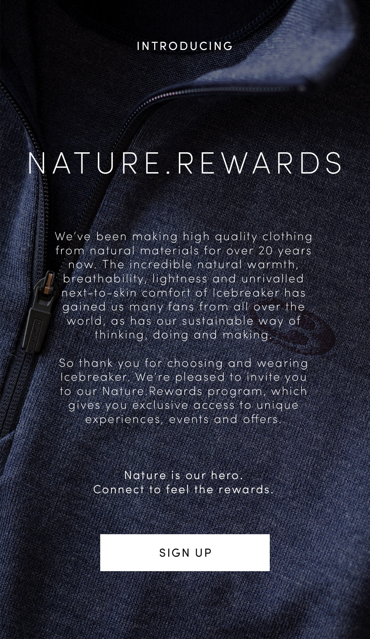 f55f73aedd1 Icebreaker: Introducing our new loyalty program: Nature.Rewards | Milled