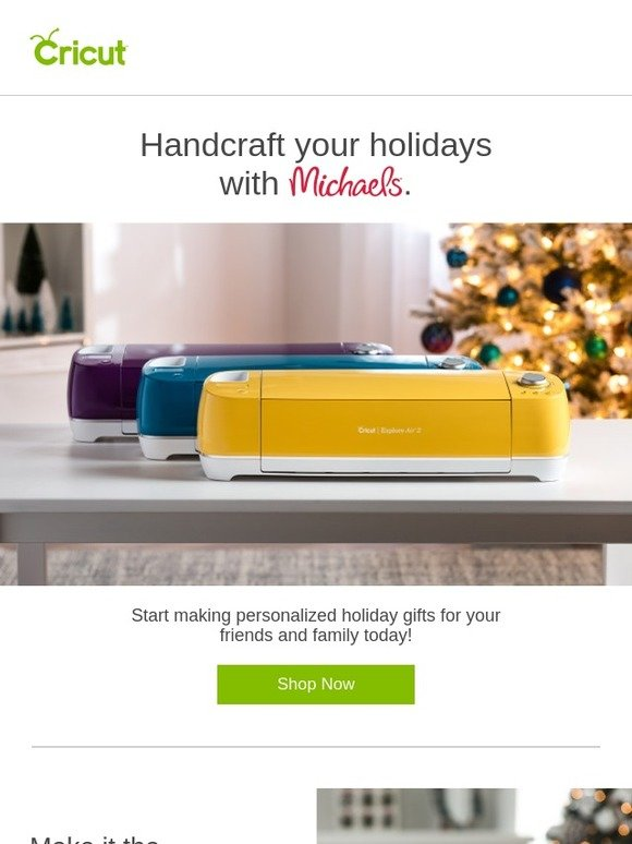 Cricut: 🎁 Oh, What Fun! Gifting Starts with You, Cricut, and