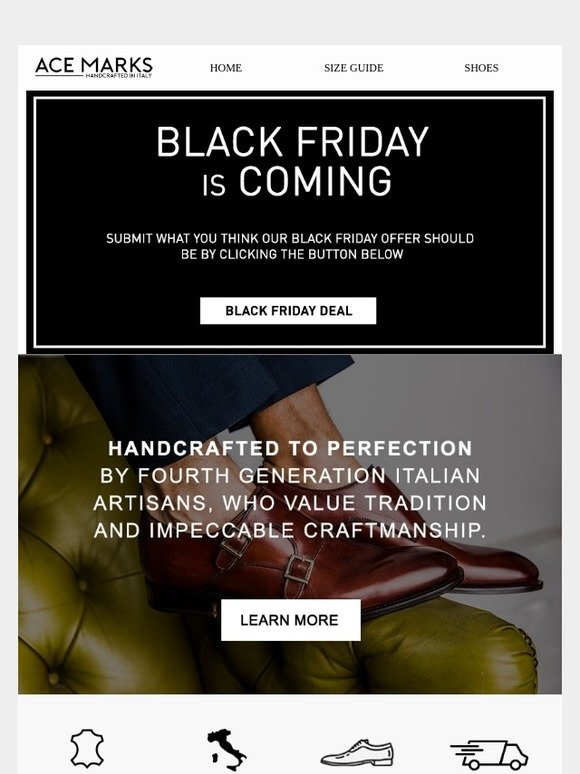 Ace Marks: You pick the Black Friday