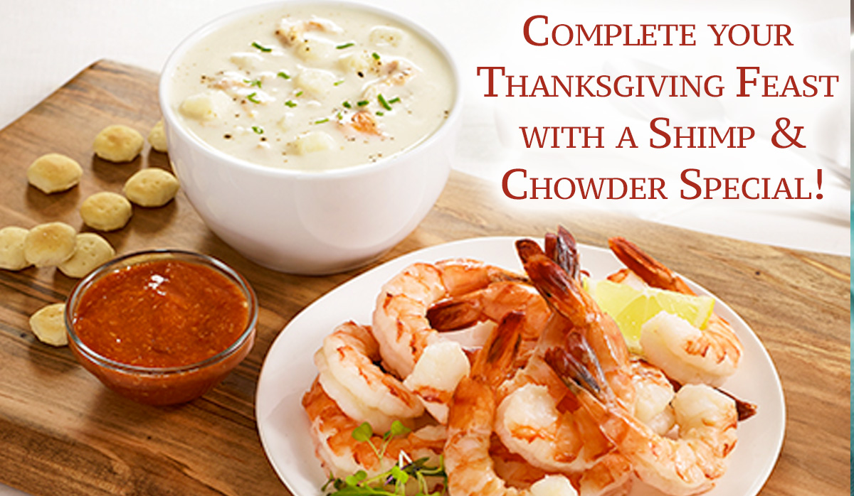 Legal Sea Foods Gourmet Gift Division: 🍤 Thanksgiving