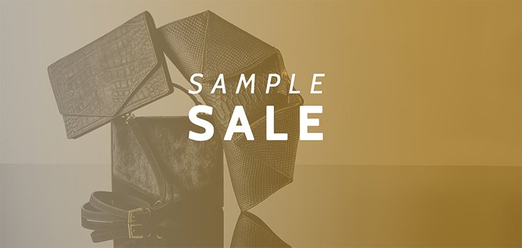 Luxe Sample Sale