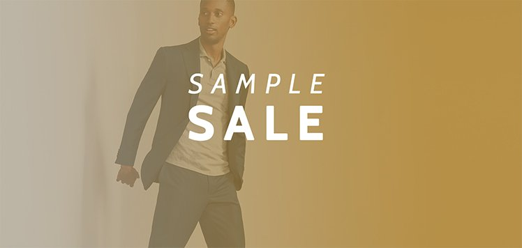Men's Sample Sale